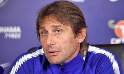 Conte đã thoát khỏi ám ảnh mùa thứ hai của các đời HLV trước tại Chelsea. Ảnh: PA.