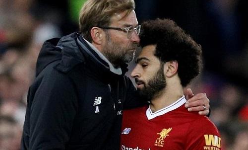 Liverpool có thể gặp khó trước Burnley, nếu vắng Salah. Ảnh: AFP.