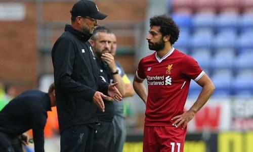 Salah là vũ khí nguy hiểm của Liverpool ở thời điểm này. Ảnh: AFP.