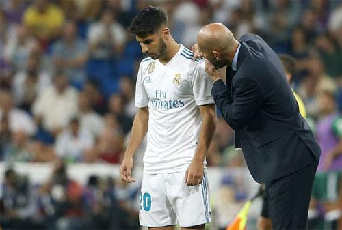 Asensio đang cần thờ gian để trưởng thành. Ảnh: Reuters