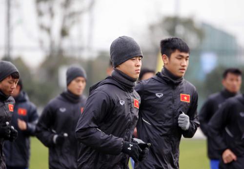 HLV Park Hang-seo tin Việt Nam sẽ gây sốc tại vòng chung kết U23 châu Á. Ảnh: VFF