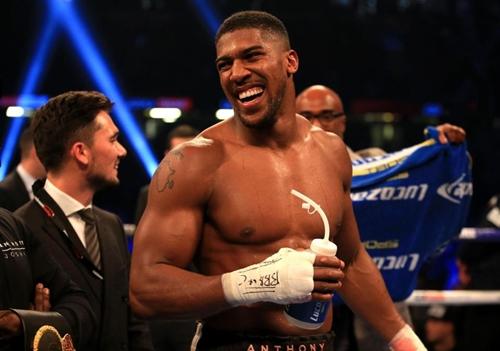 Joshua muốn thống nhất cả bốn đai vô địch quyền Anh hạng nặng trong năm 2018. Ảnh: PA.