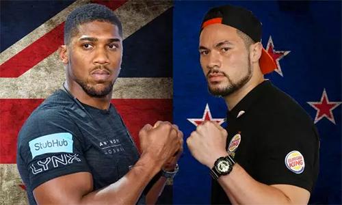 Parker (phải) gần như chắc chắn sẽ là đối thủ tiếp theo của Joshua.