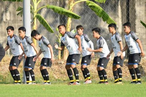 Thái Lan đặt mục tiêu có điểm tại vòng chung kết U23 châu Á.