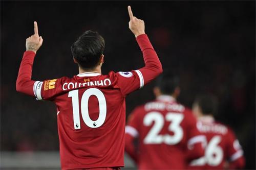 Coutinho có thể không còn khoác áo số 10 của Liverpool. Ảnh: Reuters