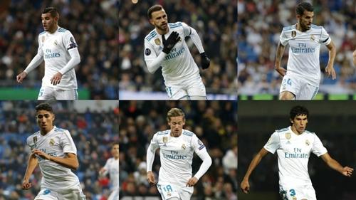 Những cầu thủ trẻ sẽ có cơ hội tại đội một Real ở giai đoạn lượt về.