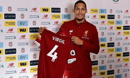 Van Dijk giờ đã là hậu vệ đắt giá nhất thế giới. Ảnh: Liverpool FC.