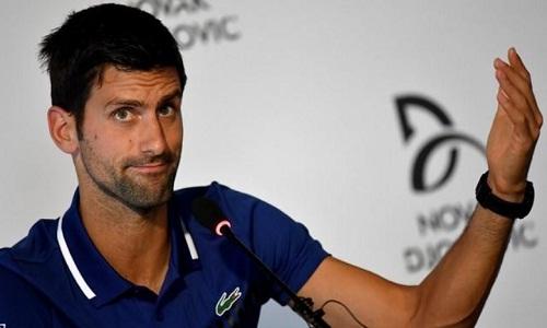 Djokovicsẽ trở lại ở những sự kiện biểu diễn sắp tới. Ảnh: Reuters.