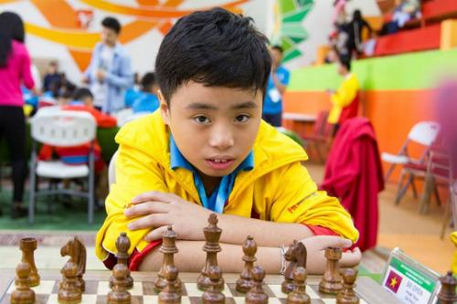 Gia Phúc, niềm hi vọng mới của cờ vua Việt Nam.