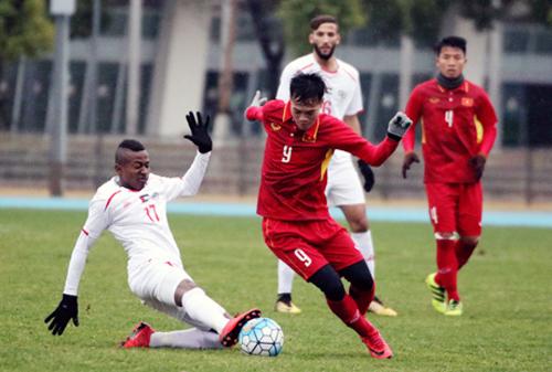 Việt Nam và Palestine đã hoàn tất việc chuẩn bị cho vòng chung kết U23 châu Á. Ảnh: Đoàn Huynh