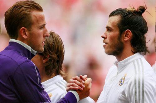 Kane và Bale có thể đổi chỗ cho nhau trong tương lai gần. Ảnh: Reuters