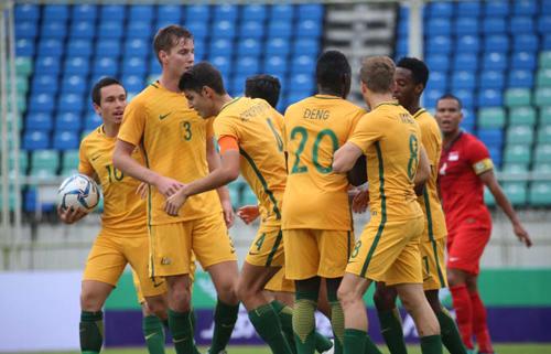 Australia được đánh giá là ứng cử viên cho chức vô địch giải U23 châu Á. Ảnh: Reuters