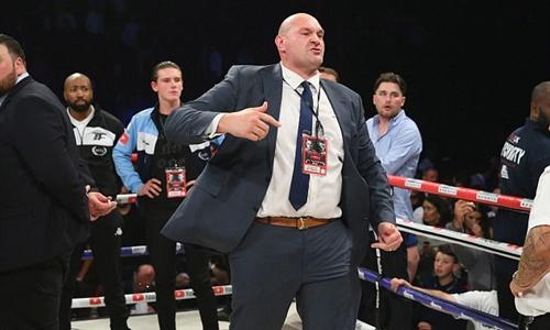Tyson Fury không thượng đài lần nào trong vòng hai năm rưỡi qua. Ảnh: Reuters.