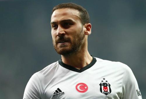 Tosun trong màu áo Besiktas. Ảnh:Reuters.