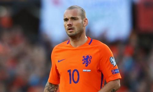 Sneijder sẽ dành quãng thời gian cuối sự nghiệp ở Qatar. Ảnh: Reuters.
