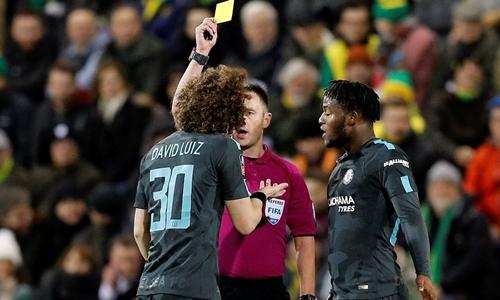 Chelsea có trận hòa nhạt nhòa với Norwich. Ảnh: Reuters.