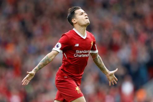 Coutinho trưởng thành vượt bậc sau năm mùa giải ở sân Anfield. Ảnh:Reuters.