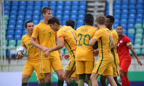Australia được đánh giá là ứng cử viên sáng giá cho chức vô địch giải U23 châu Á.