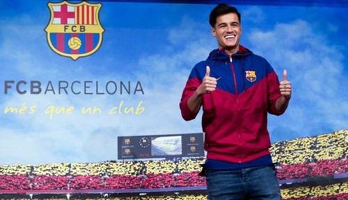 Coutinho là cầu thủ đắt nhất lịch sử Barca. Ảnh: Reuters.
