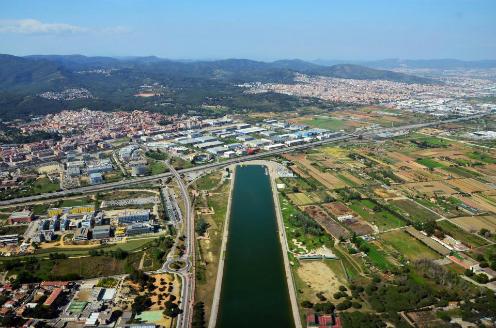 Khu ngoại ô Castelldefels nổi tiếng dành cho những người giàu. Ảnh:AFP.