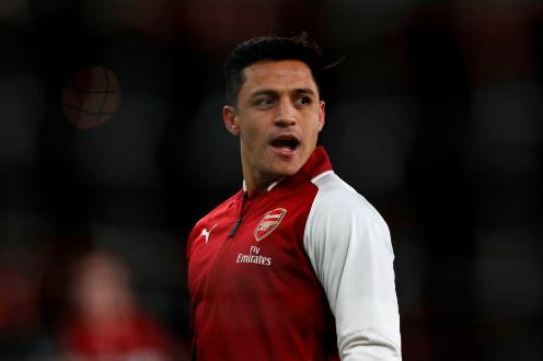 Alexis Sanchez không còn mặn mà cống hiến cho Arsenal. Ảnh:AFP.