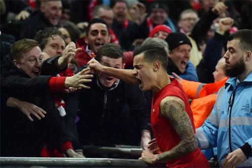 Coutinho đã có năm năm cống hiến trong màu áo Liverpool. Ảnh: Reuters