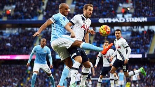 Tottenham của Kane đã thua Man City với tỷ số 1-4 trong mùa này. Ảnh: PA.