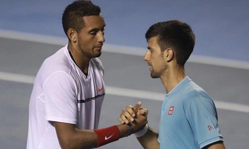 Djokovic tin Kyrgios sẽ là đối thủ khó chơi với Federer vàNadal. Ảnh: AFP.