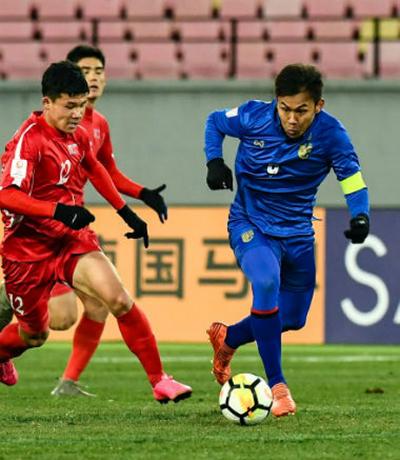Thái Lan buộc phải có điểm trước Nhật Bản nếu muốn còn hi vọng đi tiếp tại giải U23 châu Á.