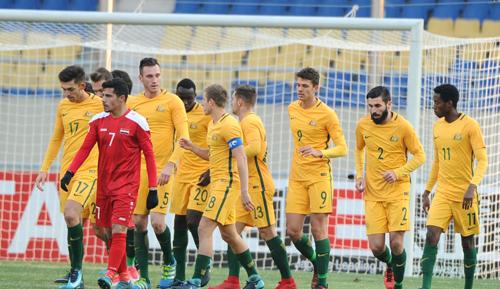 Australia khởi đầu hoàn hảo tại vòng chung kết U23 châu Á.