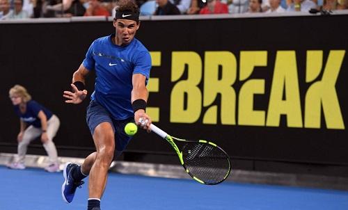 Nadal không có sự chuẩn bị trọn vẹncho Australia Mở rộng 2018. Ảnh: AFP.
