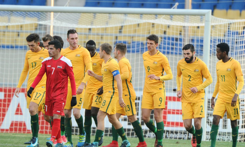 Australia đánh bại Syria 3-1 ở trận ra quân.