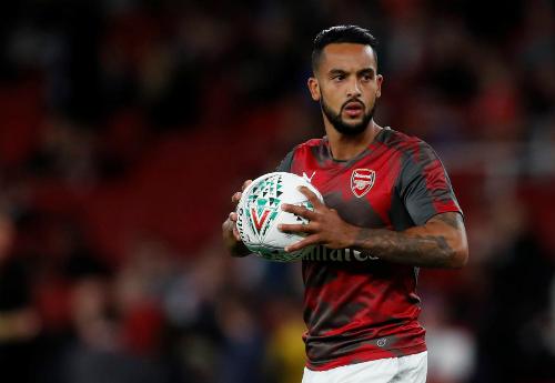 Walcott chỉ còn đóng vai trò dự bị ở Arsenal. Ảnh:Reuters.