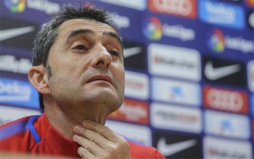 Valverde đang chứng tỏ được năng lực tại Barca. Ảnh: Reuters