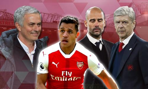 Mourinho và Man Utd chờ thời cơ trục lợi trong thương vụ Sanchez. Ảnh:Metro.