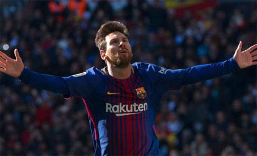 Messi là cầu thủ ghi bàn nhiều nhất trong các trận El Clasico. Ảnh: Reuters