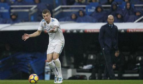 Phát biểu của Kroos có ý giảm áp lực cho đồng đội. Ảnh: Marca.