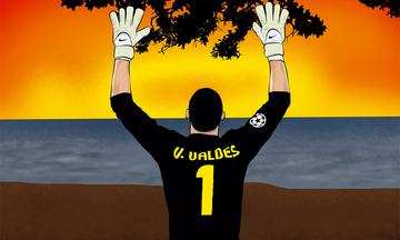 Victor Valdes - người ra đi đầu không ngoảnh lại