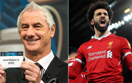 Ian Rush lo về khả năng Real giật Salah khỏi tay Liverpool.