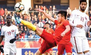 Thua ngược Qatar, Trung Quốc bị loại ngay vòng bảng giải U23 châu Á