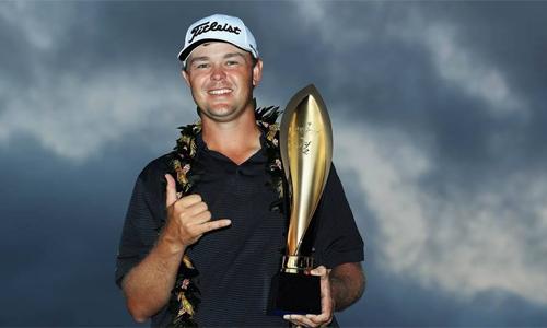 Kizzire đăng quang sau màn play-off nghẹt thở với Hahn. Ảnh: PGA Tour.