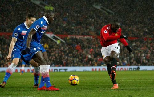 Lukaku ghi bàn thắng ấn định tỷ số 3-0. Ảnh:Reuters.