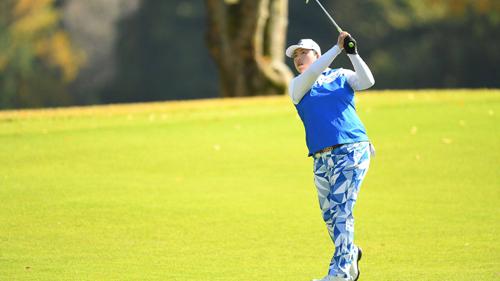 Những chiếc quần độc đáo mà Feng mặc luôn thu hút sự chú ý tại các giải LPGA Tour. Ảnh: Reuters.
