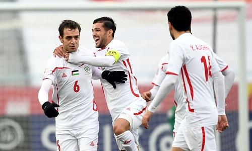 Palestine vượt qua Triều Tiêngiành vé vào tứ kết. Ảnh: AFC.
