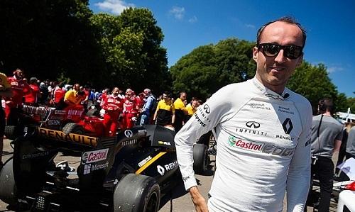 Kubica được chọn làm tay đua dự bị của Williams