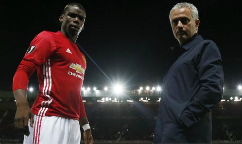 Những thương hiệu lớn như Man Utd, Mourinho và Pogba là một trong lý do giúp Ngoại hạng Anh thu hút khán giả. Ảnh:Reuters.