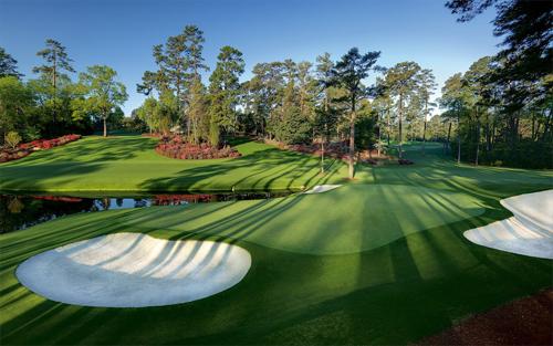 Sân golf Augusta National, nơi tổ chức giải Masters danh giá, đang dần trở nên chật chội. Ảnh: ESPN.