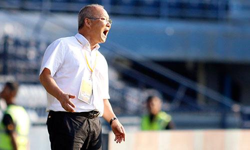 HLV Park Hang-seo tạo dấu ấn lớn với Bóng đá Việt Nam sau ít tháng cầm quân. Ảnh: Anh Khoa.