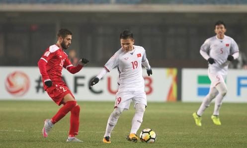 Việt Nam đối đầu Iraq ở tứ kết U23 châu Á
