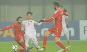 HLV U23 Syria chào thua hàng thủ Việt Nam